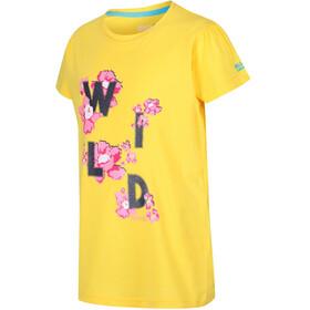 Regatta Bosley II Shortsleeve Shirt Children yellow